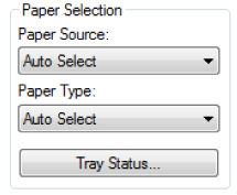 CHECKING PAPER TRAY SETTING