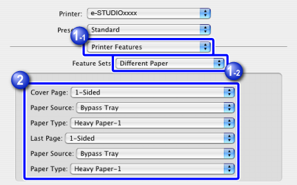 PRINTING SPECIFIC PAGES ON DIFFERENT PAPER